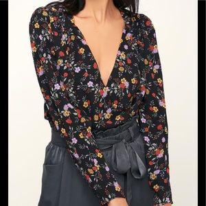 05eef068d082 ASTR The Label Other - ASTR The Label Bernadette Floral Bodysuit